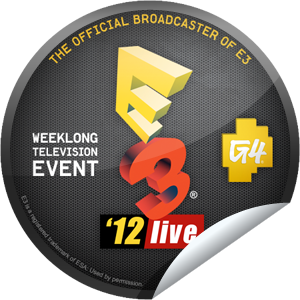E3 '12 Sticker GetGlue Social tv, Stickers, Geek stuff
