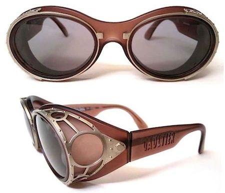 baf8b8d60 keren walo agak susah buat pake ngelirik2 | Vintage-gaultier-gafas Oculos  De Sol