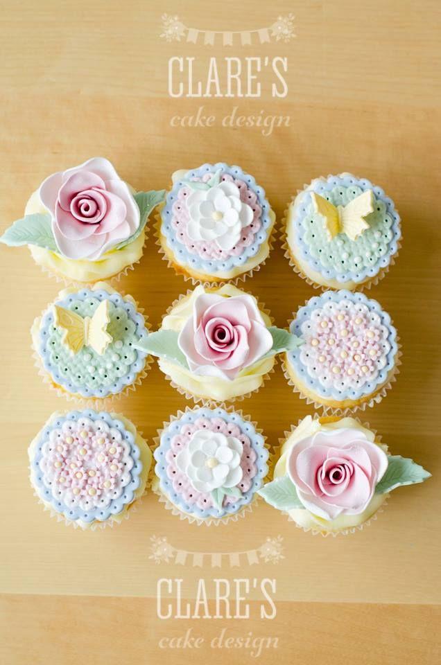 Spring Cupcakes #cupcakeideas