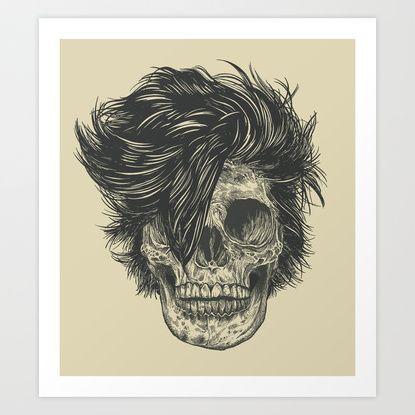 Dead Duran Art Print by Rachel Caldwell | Society6