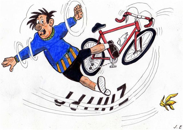 Dessin caricature humour humour dessin texte photos sonia dahuron dessin et humour - Dessin cycliste humoristique ...