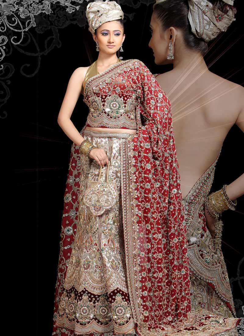 bollywood bridal dress | Indian Designer Bridal Dresses | ** Brides ...