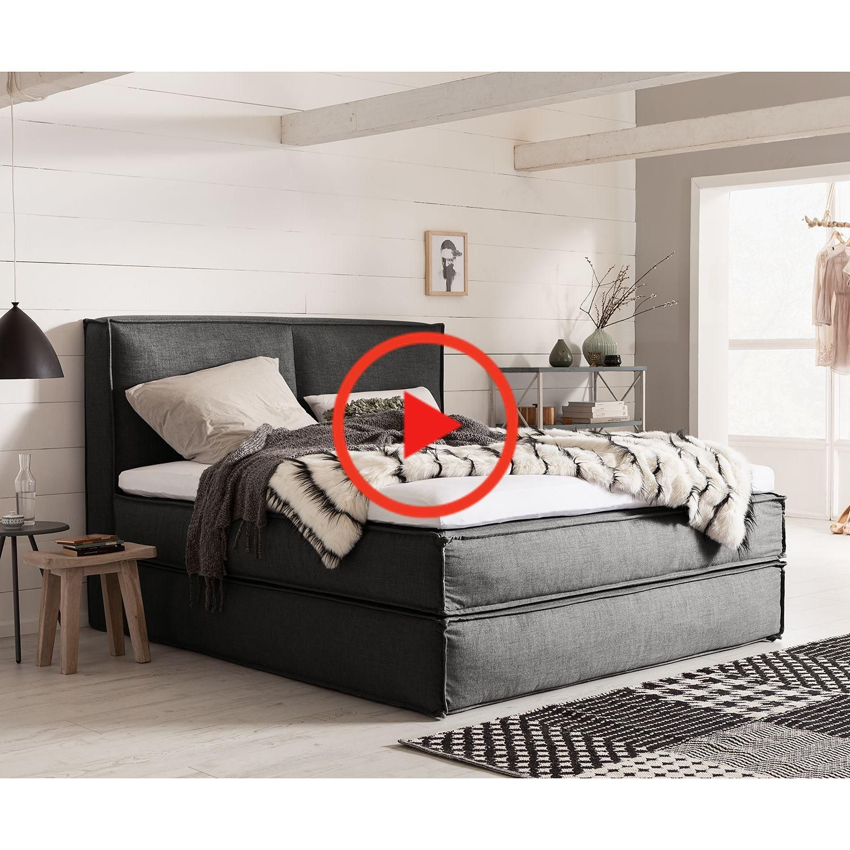 Boxspringbett New Bedford Bett Schlafzimmer Beige Mit Topper 120x200 Boxspringbett Bett Amerikanische Betten