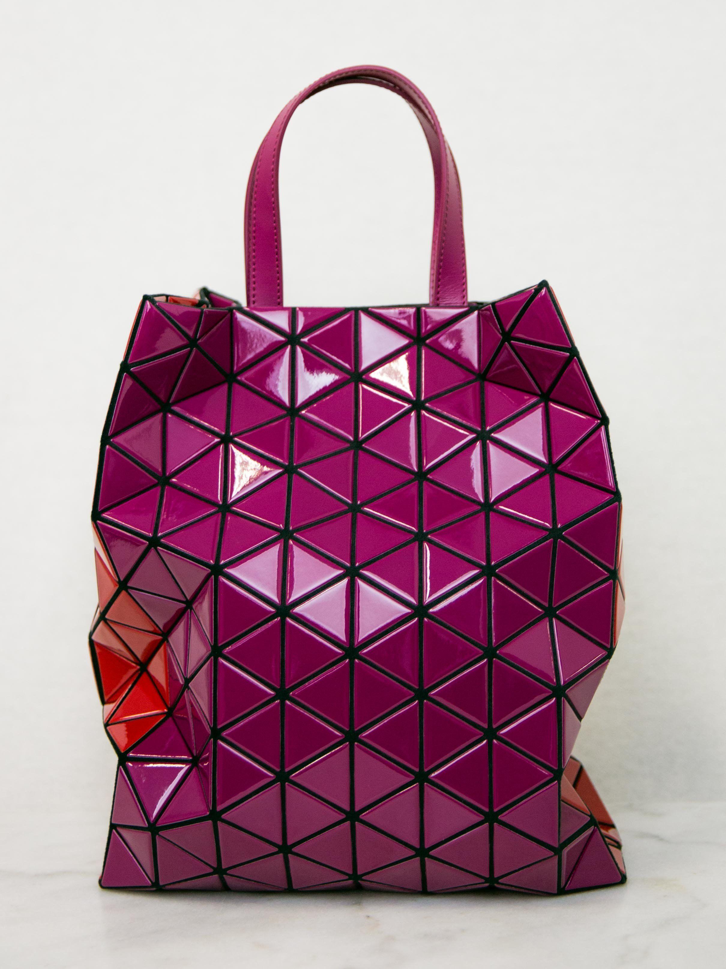 420060b5335a BAO BAO ISSEY MIYAKE Brick Bi-Colour Tote Bag in 2019