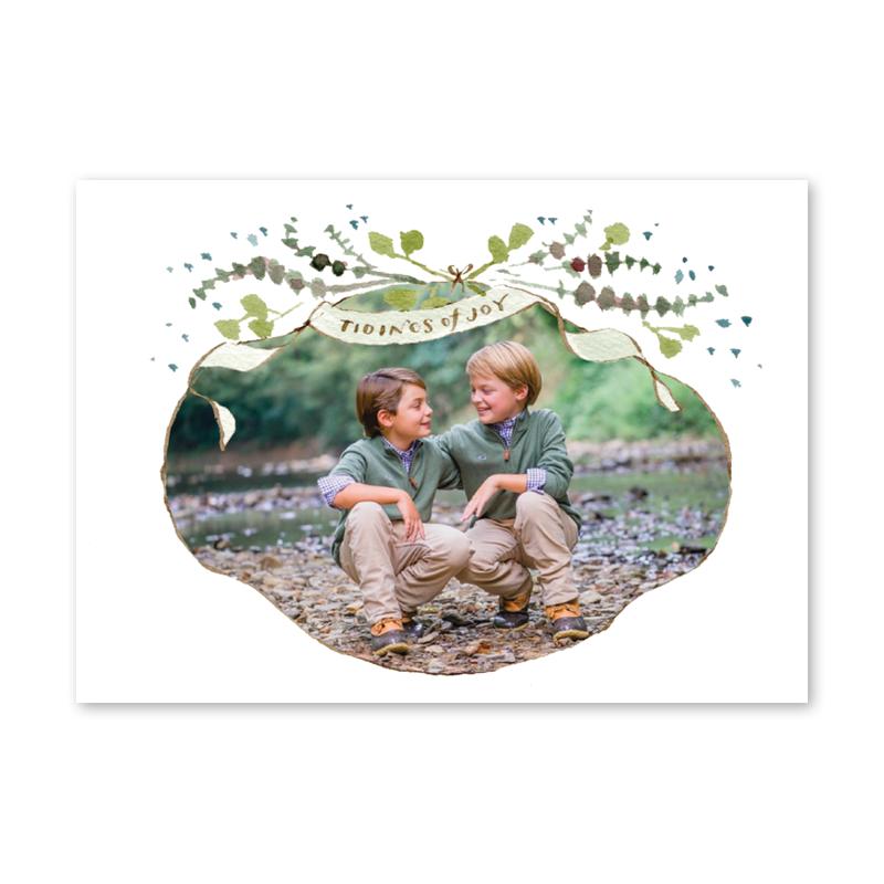 Christmas Cards, Polaroid Film, Frame