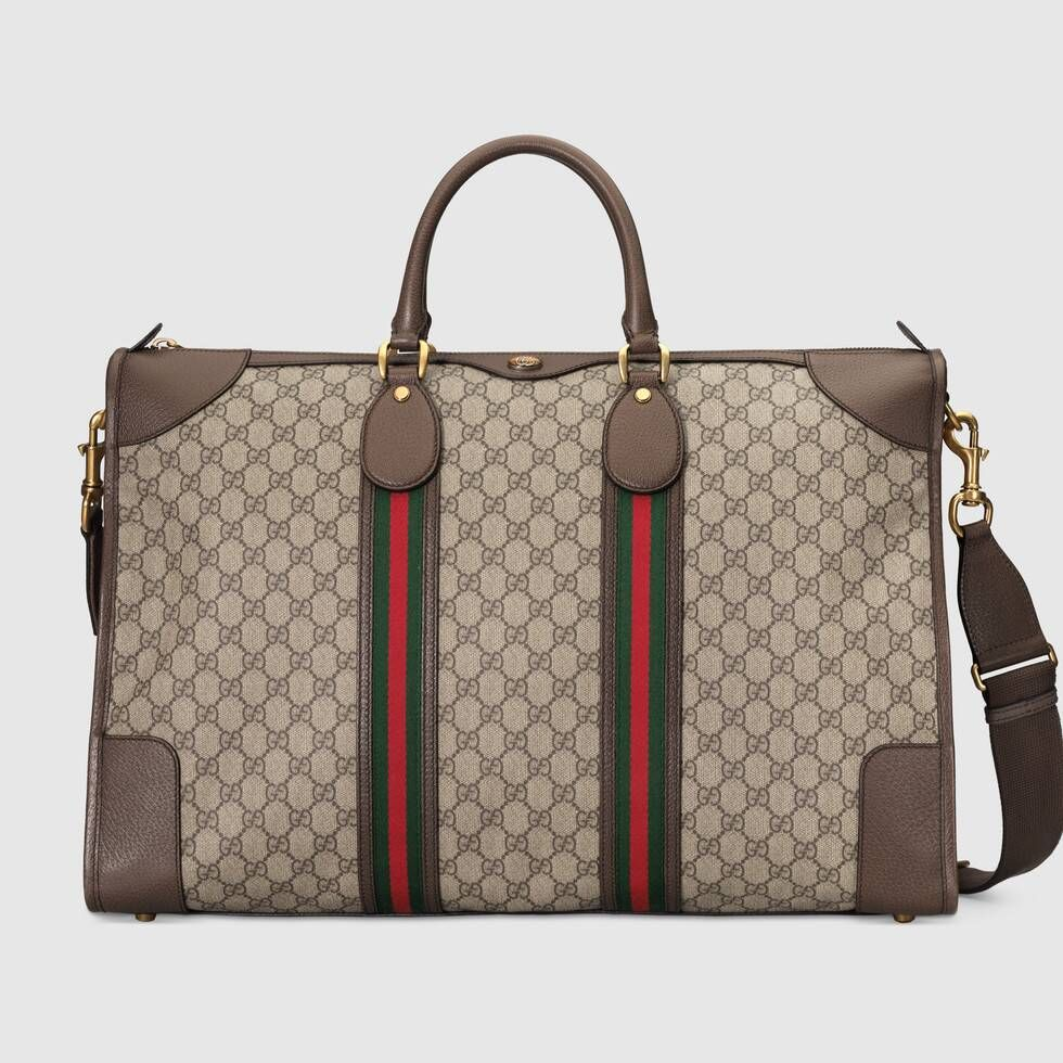 Photo of Gucci Ophidia GG large carry-on duffle