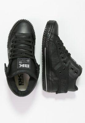 Terrible dramático neumonía  British Knights ROCO - Sneaker high - black/light grey - Zalando.de |  Sneakers, Black, All black sneakers