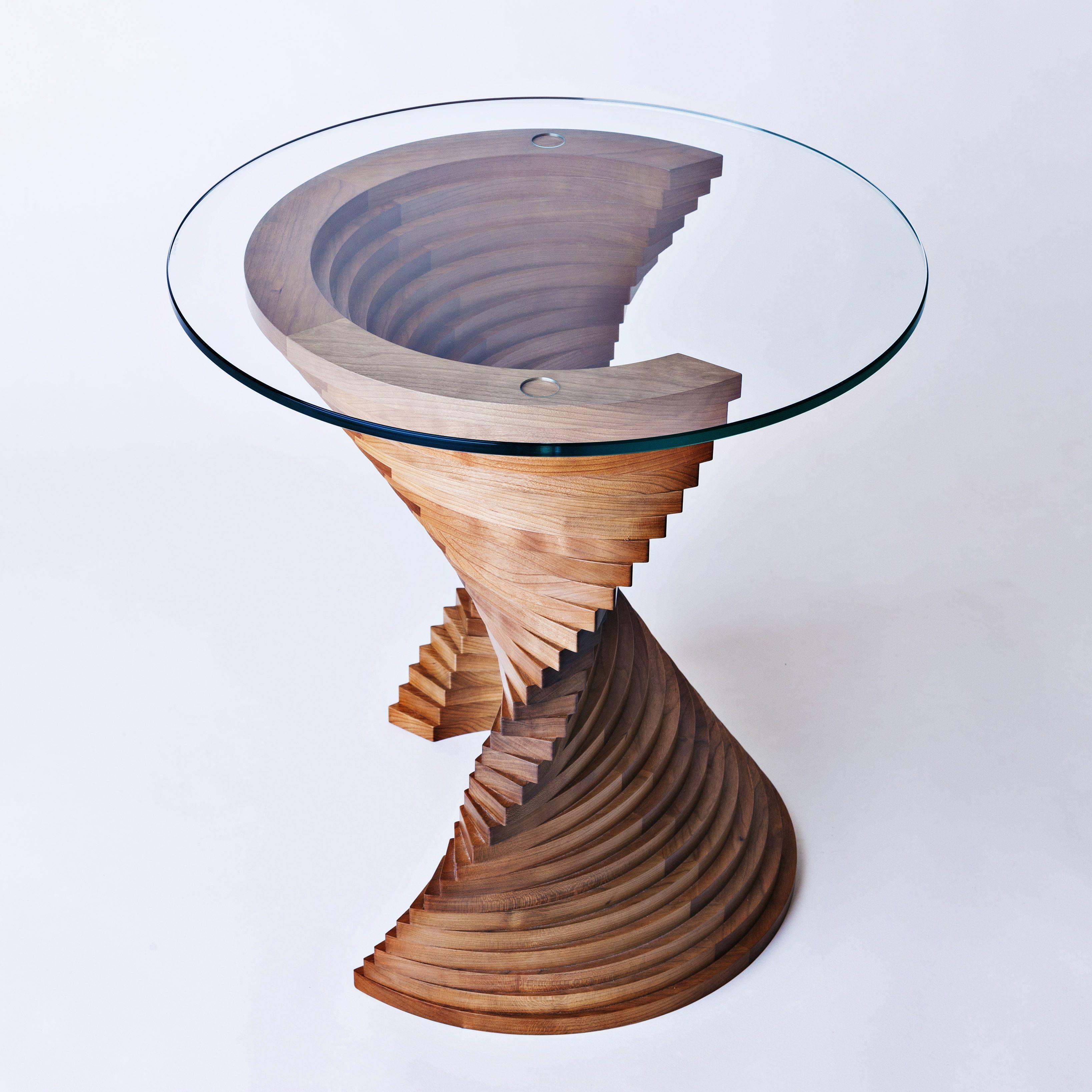 Aguaviva sculptural side table by David Tragen | Furniture ...