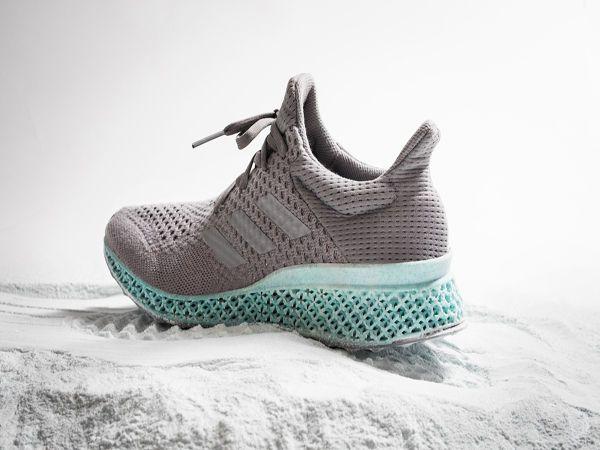 Adidas recycle les plastiques pour imprimer ses chaussures