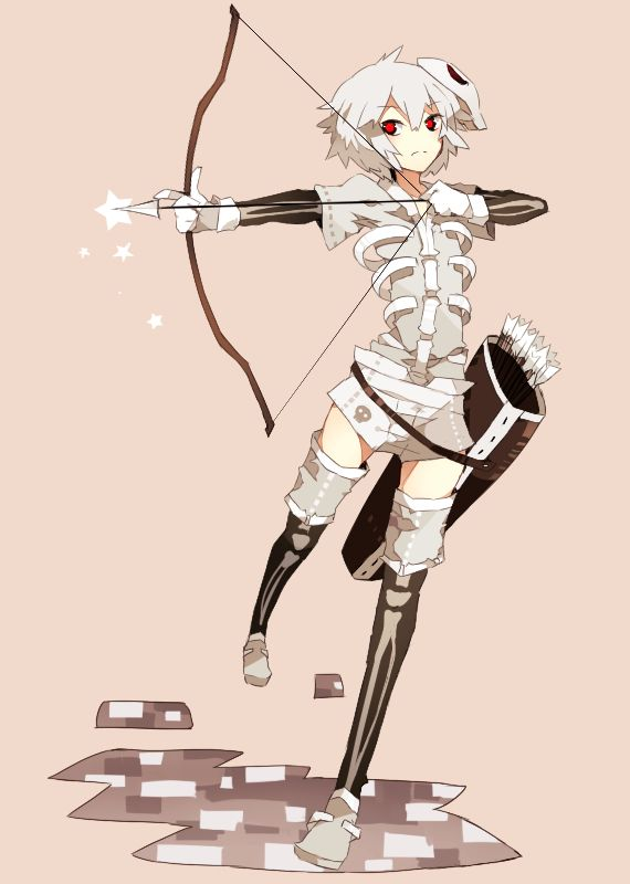 Skeleton Minecraft 1474130 Zerochan Minecraft Anime Girls Minecraft Anime Minecraft Skeleton