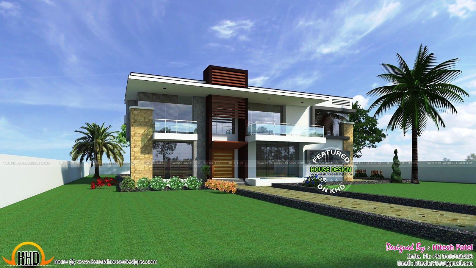Indian Contemporary House Kerala Home Design Floor Plans Bedroom American Indian Contemporary Ho Kerala House Design Home Design Floor Plans Floor Plan Design