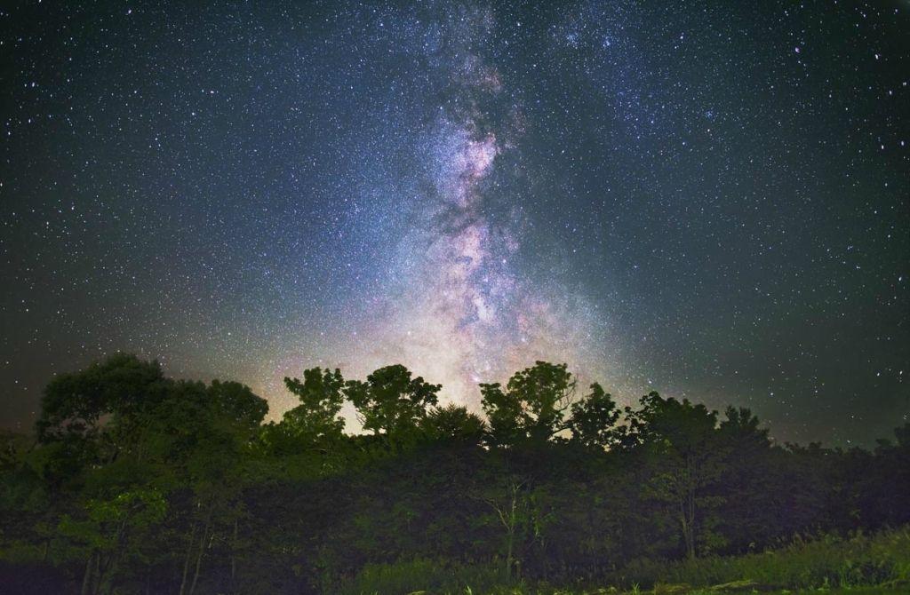 Nos fuimos a ver las estrellas.