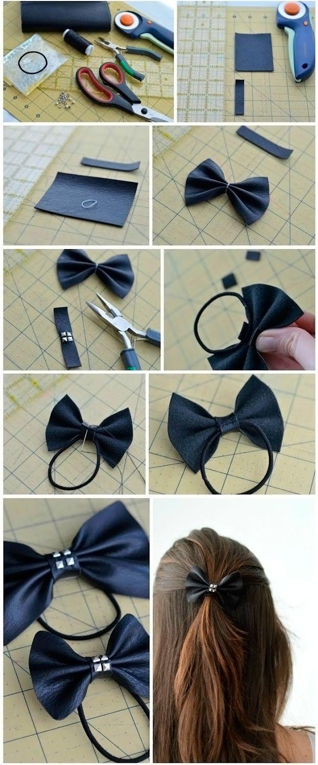 Как сделать резинку для волос своими руками с цветами фото 851