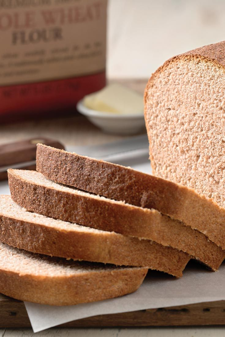 Classic 100% Whole Wheat Bread Recipe *****note use 11/4 cup of milk  instead of milk and water