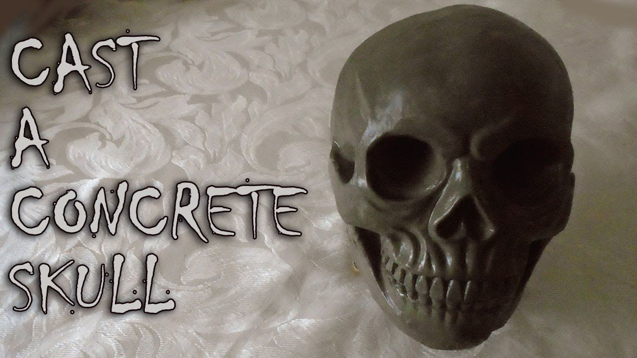Concrete Cast Of Skull https://www.youtube.com/attribution_link?a=cvmWpvHwh5k&u=%2Fwatch%3Fv%3DLRVGgyoSlMI%26feature%3Dshare . how to make your own #crafts follow @cutephonecases