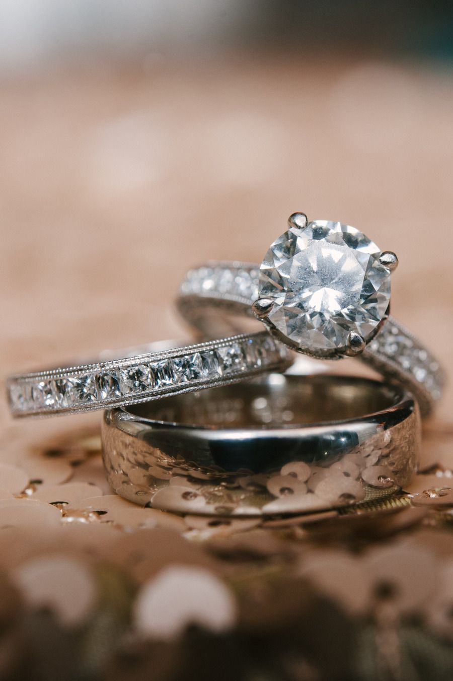 Colorful Wedding at The Chicory Best engagement rings