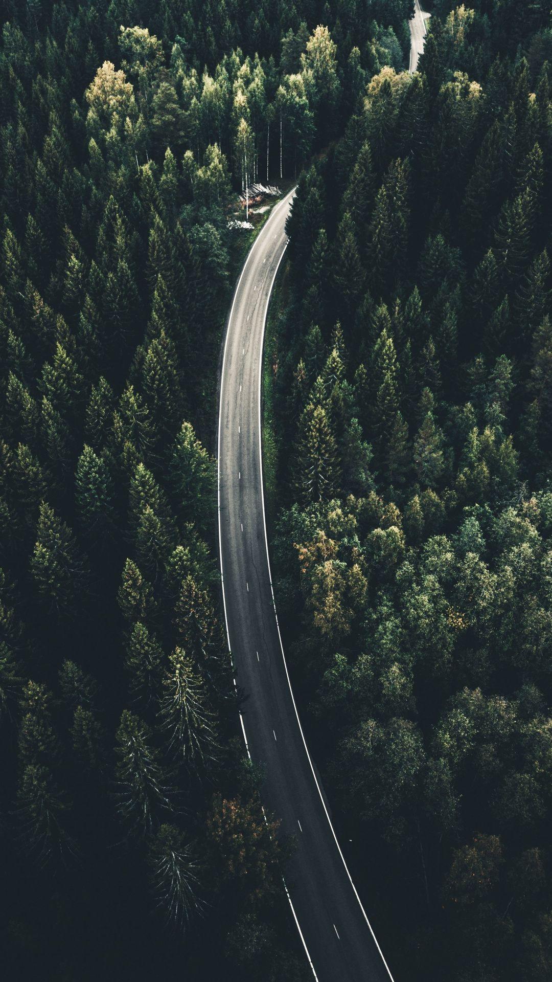 Viitailantie 269 Highway Aerial View Finland 1080x1920 Wallpaper Photo Instagram Unsplash Hd wallpaper mountain road aerial view
