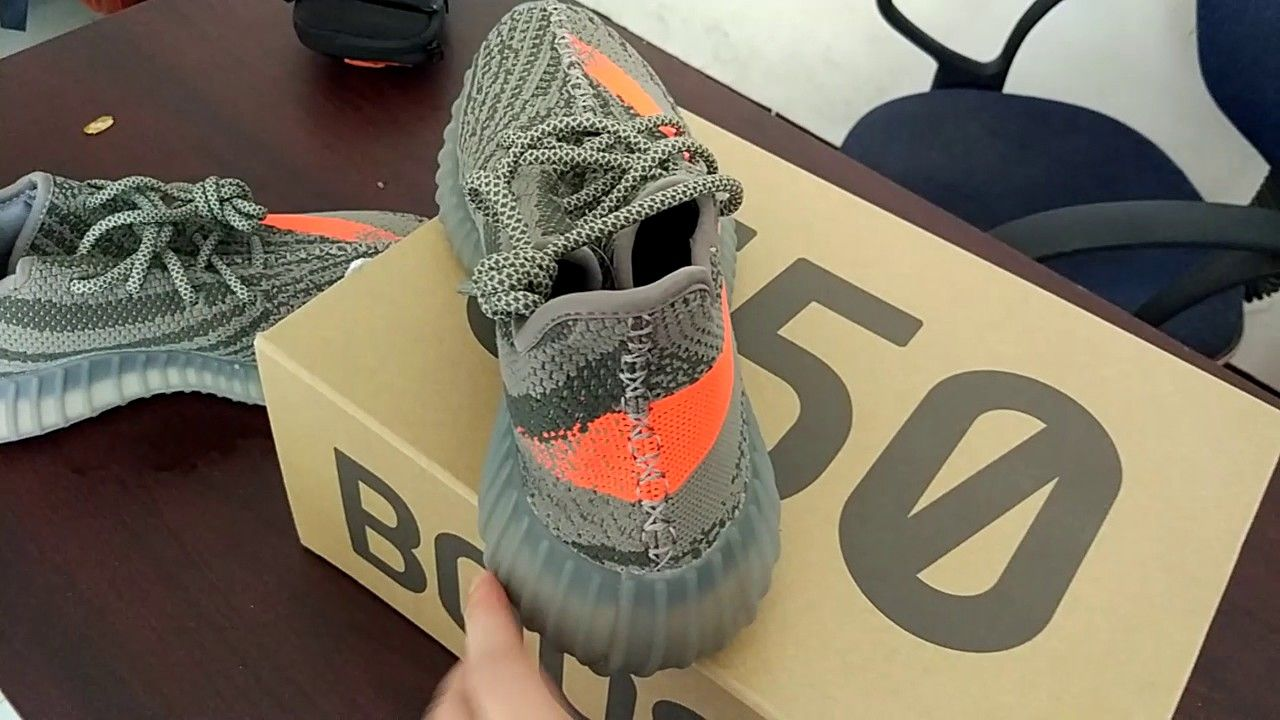 e1f8cb8bcf2 wholesale fake Yeezy Boost 350 V2 BB1826 Beluga Solar Red Real Boost ...