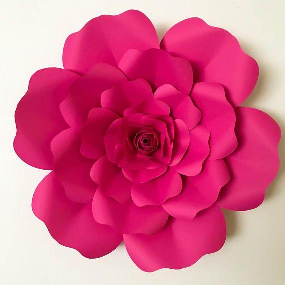 SVG Petal #36 Paper Flower Petal Template with Base, DIGITAL Version ...
