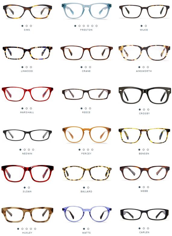 Warby parker glasses image by Nádi Vka