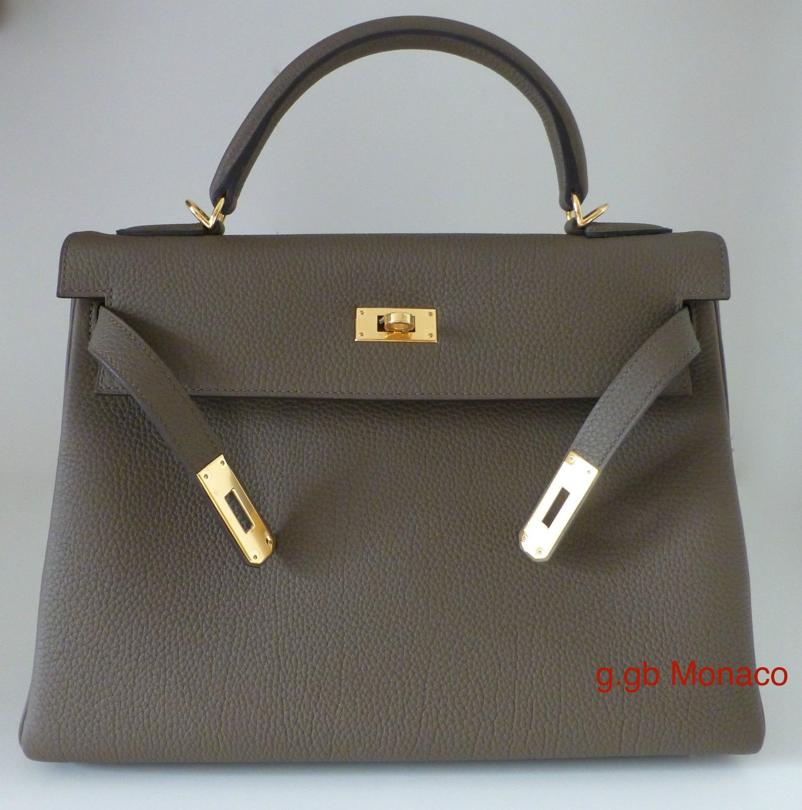 Hermes Kelly 32 Cm Taupe Togo Goldhdw 2014 Year