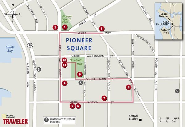 Seattle Walking Tour Pioneer Square National Geographic S