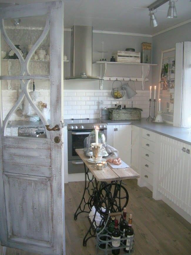 Preciosa cocina rústica que nos inspira muchísimo... Madera en ...