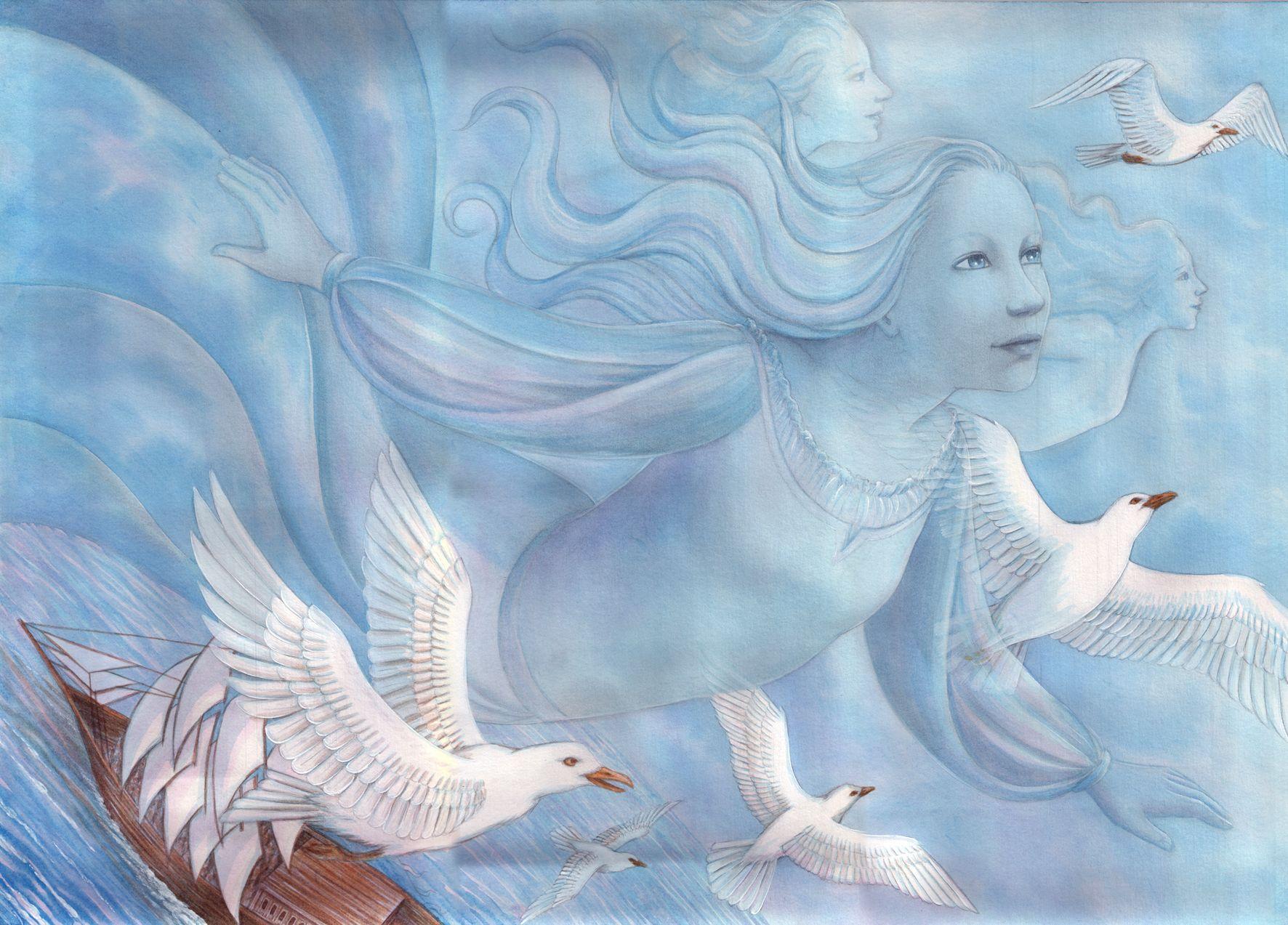 A pequena sereia / The Little Mermaid  Hans Christian Andersen www.veruschkaguerra.com