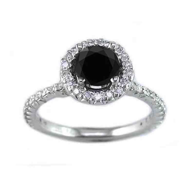 5f9b158e3 Black Diamond Engagement Rings Tiffany | TV Black Diamond Engagement ...