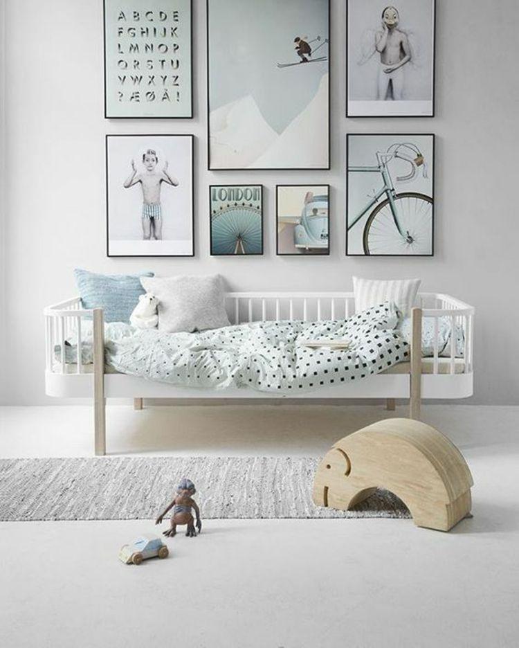 Bilder für Kinderzimmer Wanddeko Pastellfarben Junge ... | {Wanddeko babyzimmer 26}