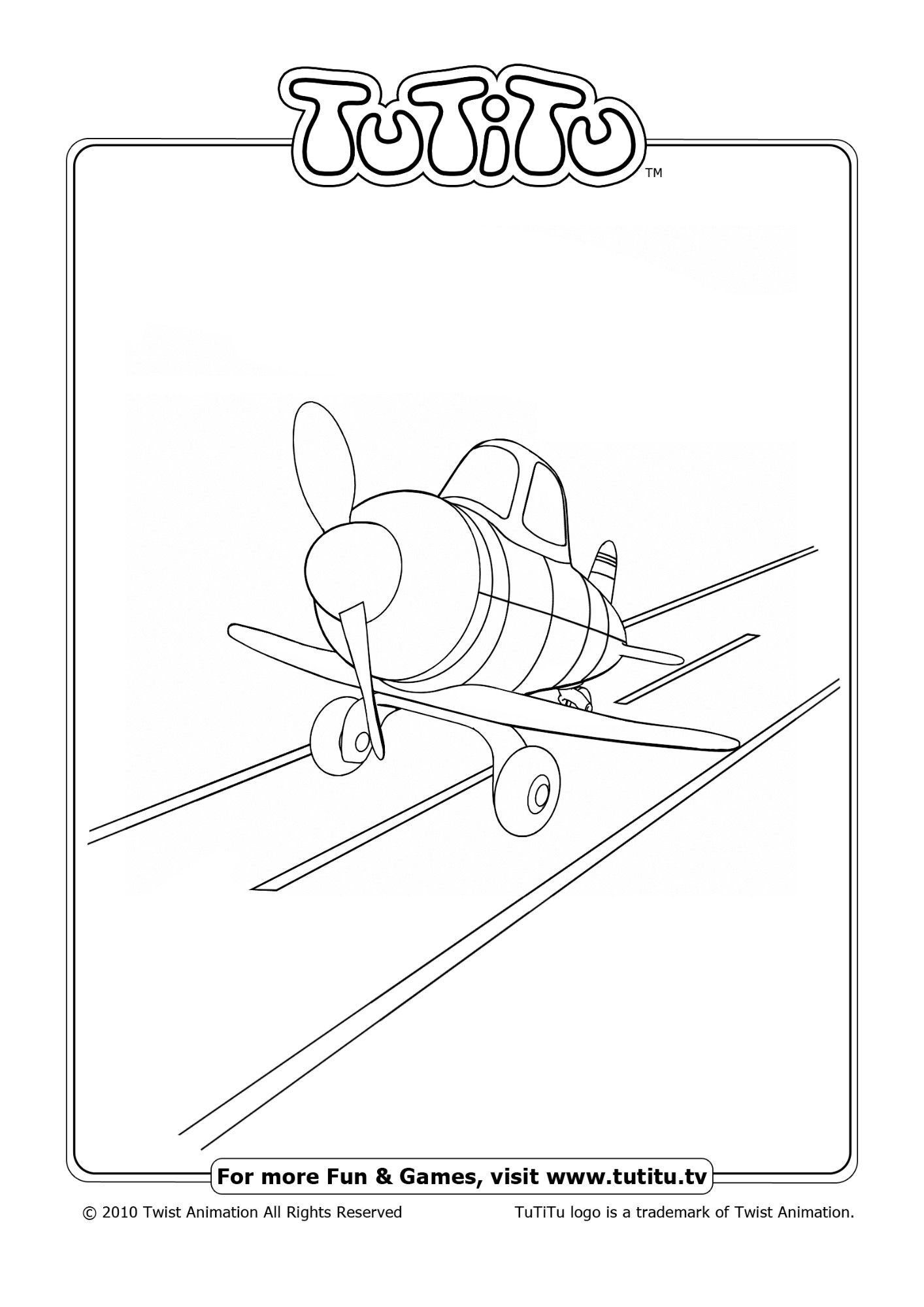 tutitu coloring pages for kids - photo#1