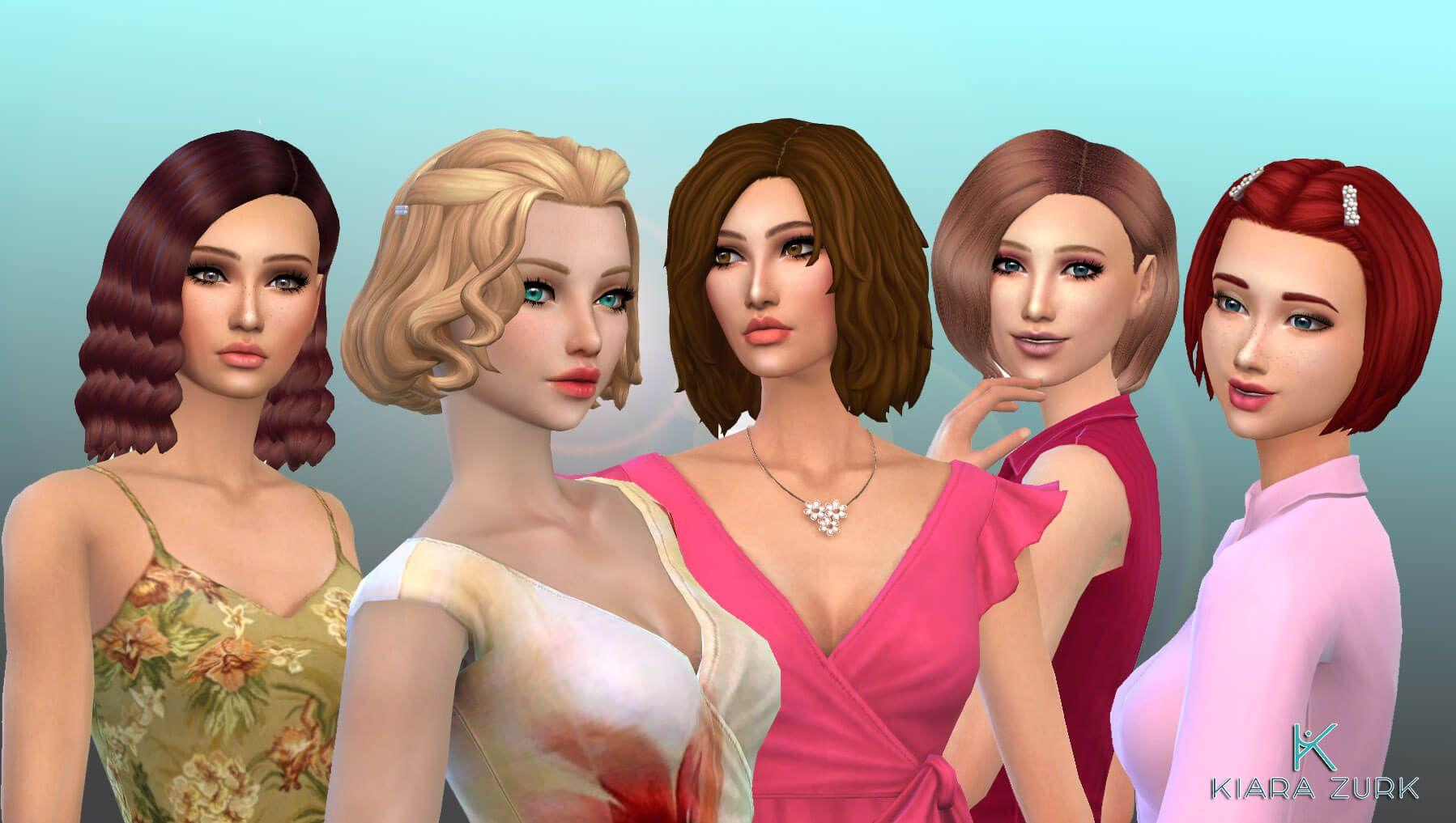 Female Medium Hair Pack 18 In 2020 Medium Hair Styles Hair Pack Womens Hairstyles