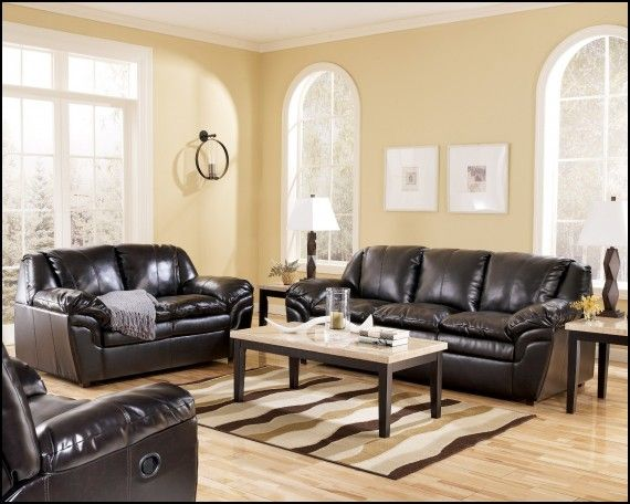 Living Room Ideas For Black Leather Couches  Couch & Sofa Gallery Unique Black Leather Living Room Furniture Design Inspiration