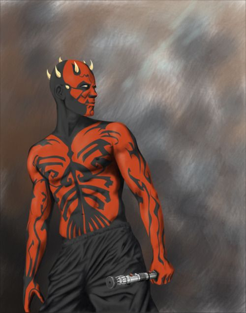 Darth Maul by Primevalevil
