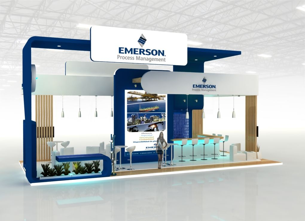 Exhibition Stand Design Drawings : Emerson by sergio guerrero at coroflot design