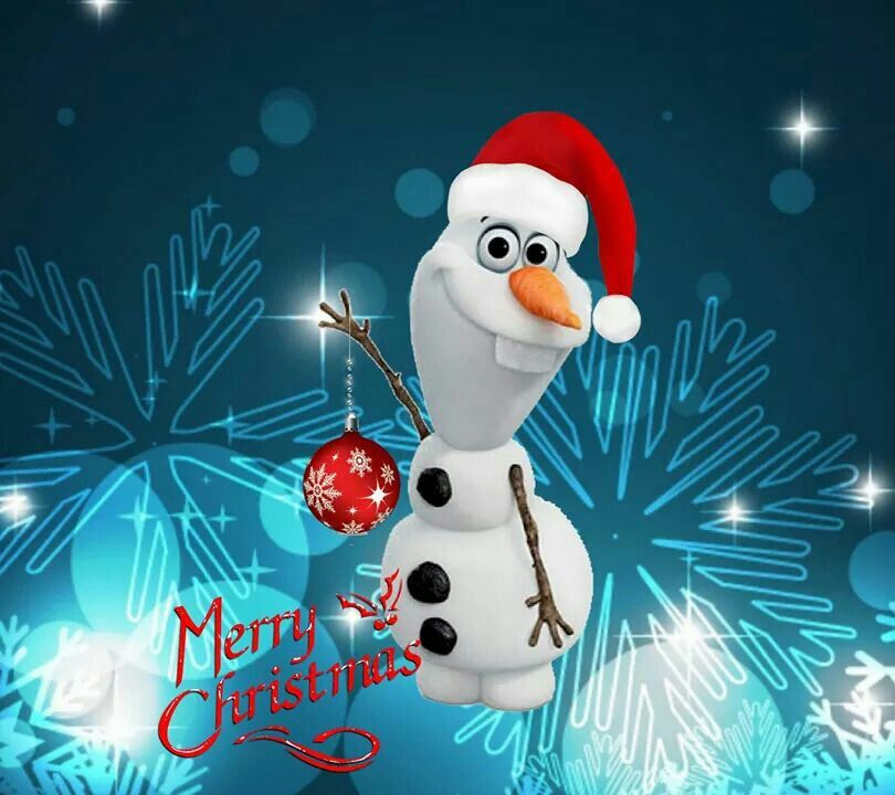 Merry Christmas From Olaf