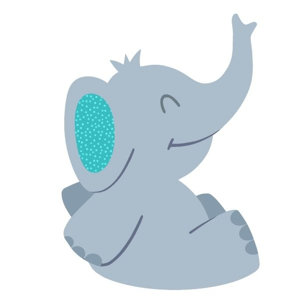 sibling and baby photo ideas - dibujo elefante infantil Buscar con Google