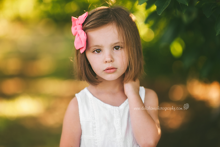 """She's Five"" by DelaLane Photography on LearnShootInspire.com D700 