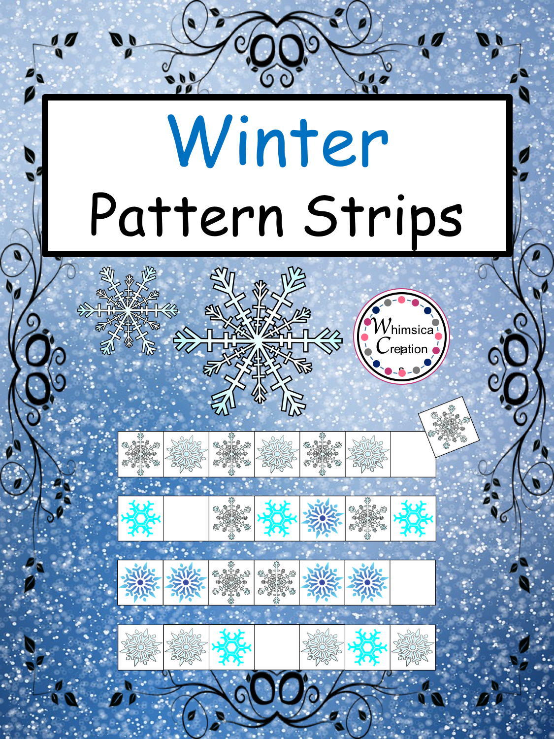 Winter Pattern Strips With Images
