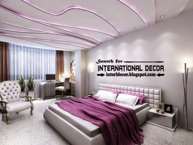 modern plaster ceiling designs and purple led lights. modern plaster ceiling designs and purple led lights for bedroom