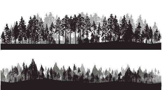 treeline-header-vector-id538490552 (557×309)   Tree ...