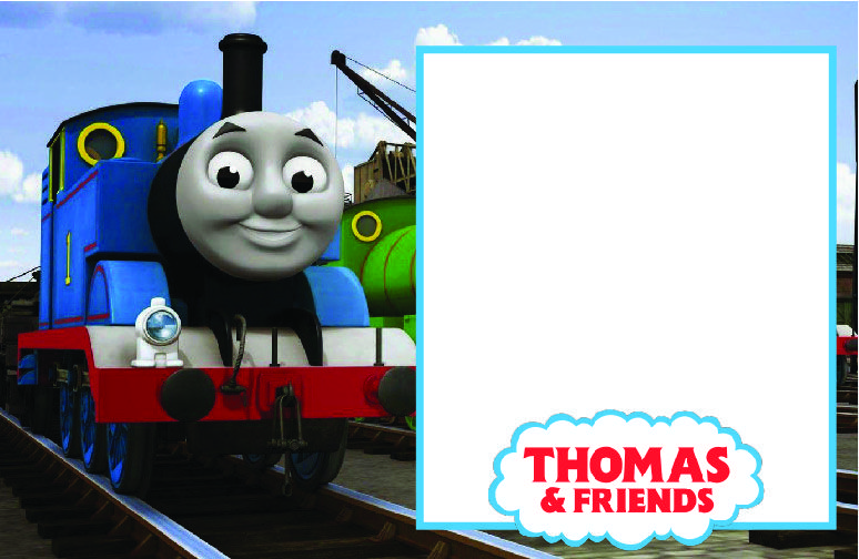 Free FREE Printable Thomas Friends Birthday Invitation Template