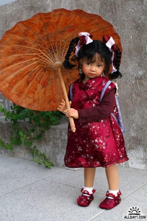 Авторские куклы Анжелы Суттер (Angela Sutter) Швейцария ...