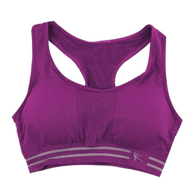 e3f6640ab7d67 Ladies Razor Back Padded Fitness Sports Bra