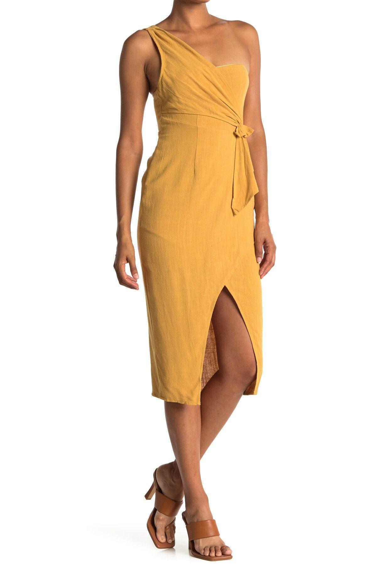 Favlux One Shoulder Faux Wrap Dress Nordstrom Rack Dresses Nordstrom Dresses Wrap Dress [ 1800 x 1200 Pixel ]