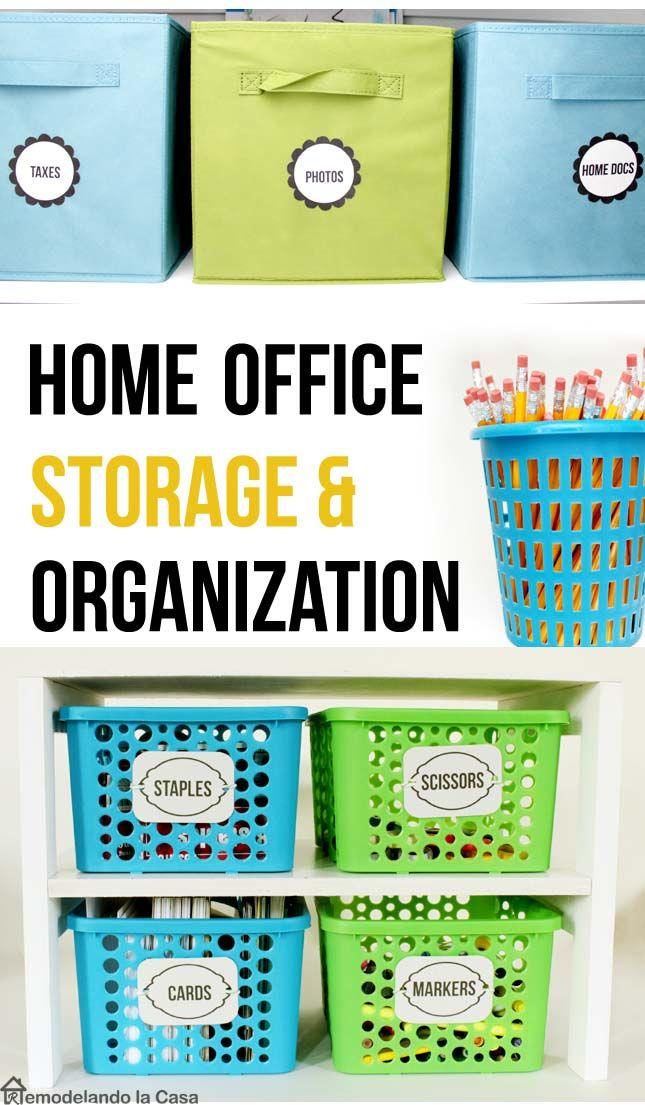Home Office Storage And Organization Storage And Organization Office Storage Home Office Storage