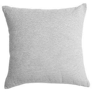 Geo Plain Chenille Cushion Grey Target Australia Chenille Cushions Pillows