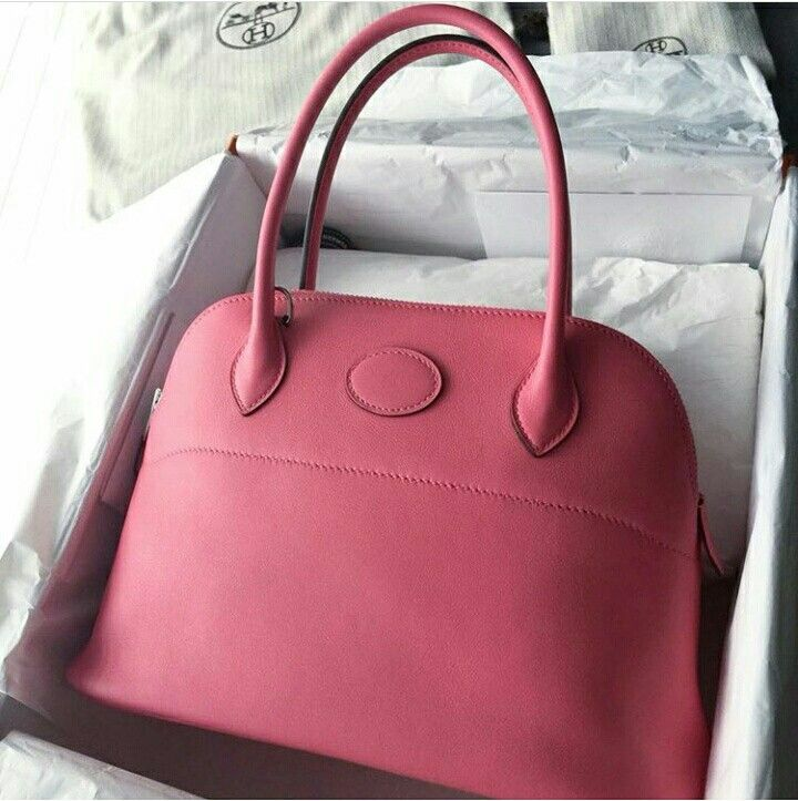 4239f6ee45aa Model  Hermes Bolide 27 Condition  Almost new Color  Rose Azalea Leather   Swift