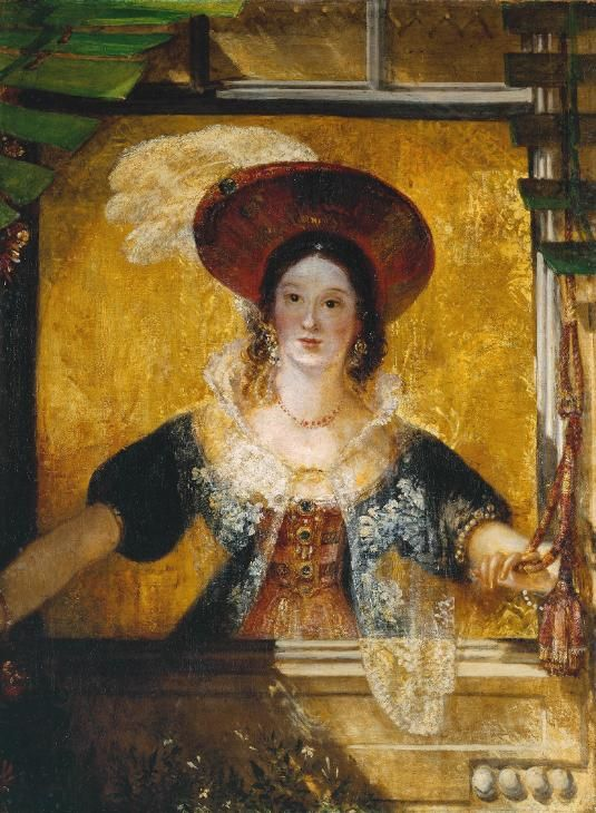Joseph Mallord William Turner 'Jessica', exhibited 1830