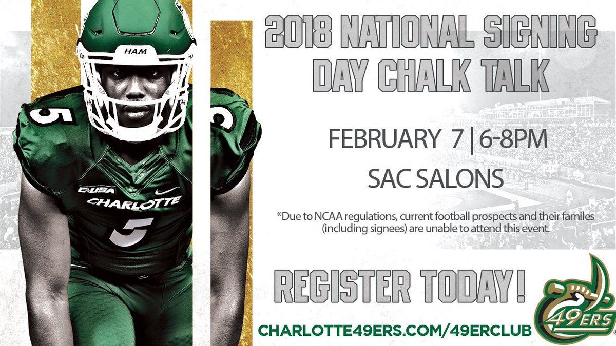 Charlotte national signing day chalk talk day